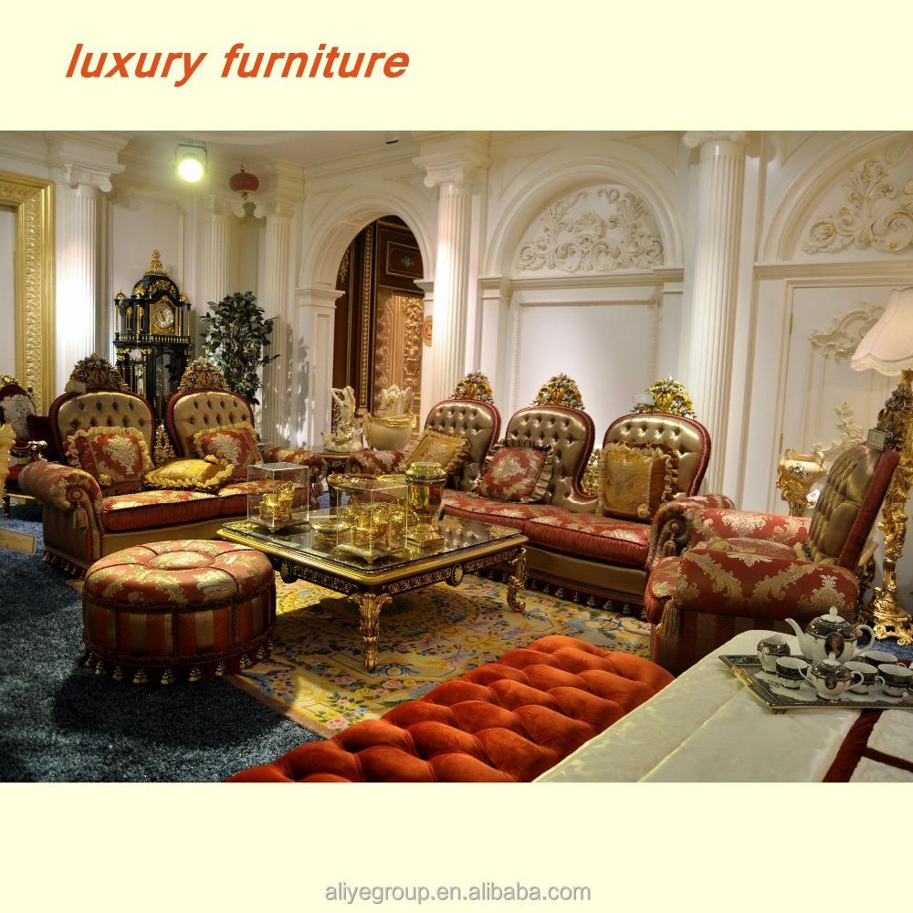 Luxury Sofa Alibaba | Jinyufang European Style High End ...