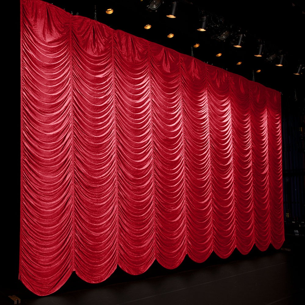 Austrian Curtains China Fireproof Curtains Exhibition Wholesale Alibaba