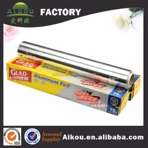 High quality fireproof roast baking use wholesale aluminium foil
