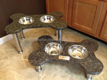 Granite Stand With Dog Bowl Buy Ceramic Dog Bowl With