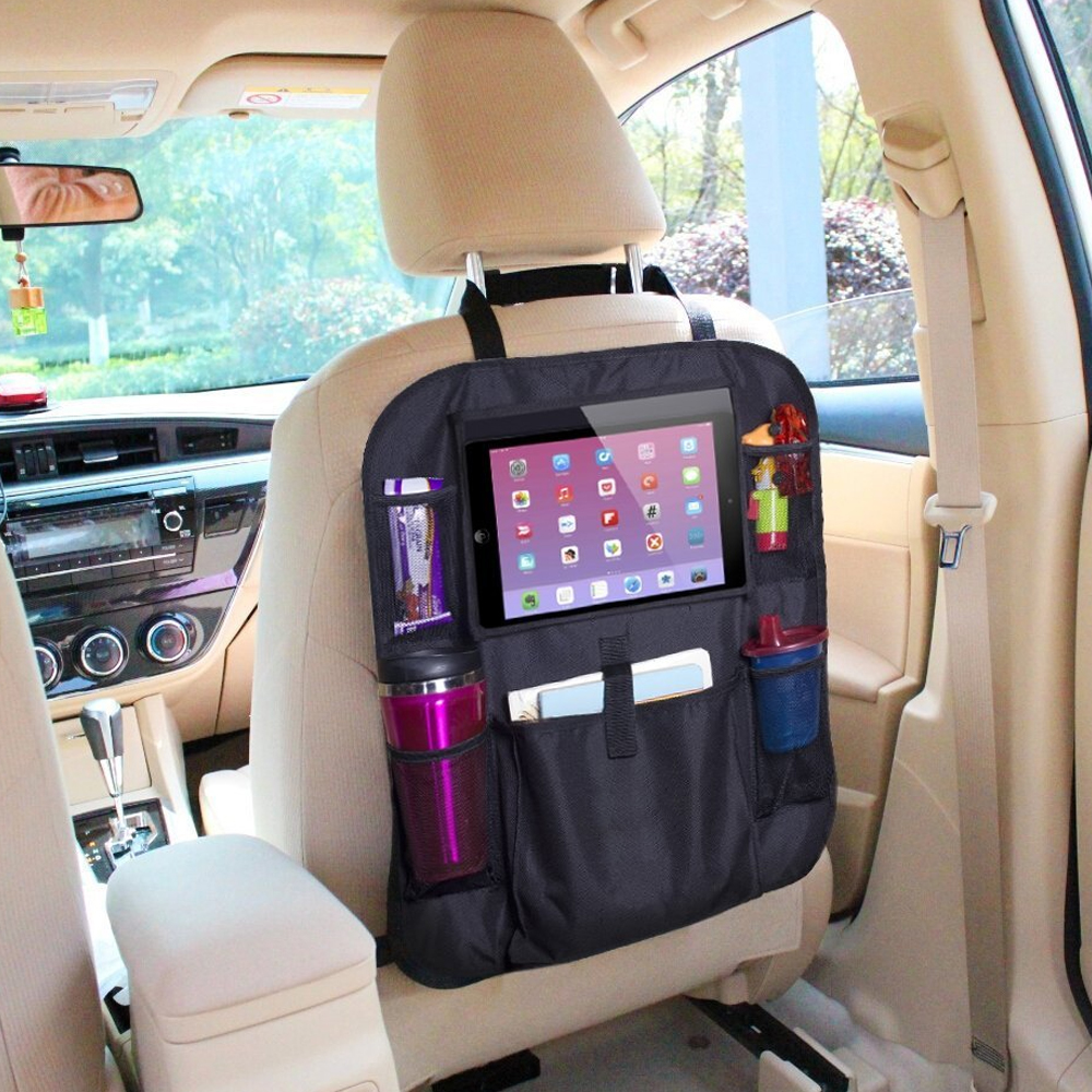 Auto Organizer Tablet Car Backseat Organizer With Tablet Holder For Kids And Toddlers Strong Buckles Use As Universal Auto Vehicle Seat Back Protector Buy Car Backseat