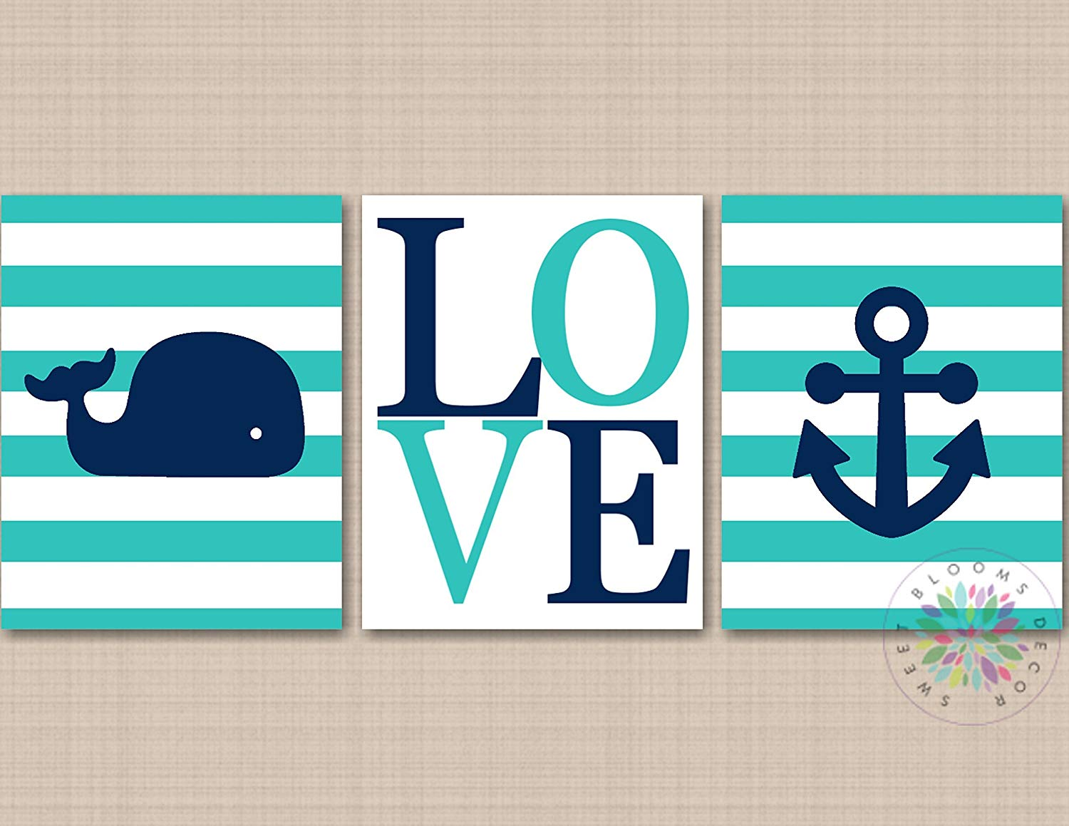Nautical House Decor Buy Whale Art Whale Decor Nautical Nursery Ocean Decor Beach House