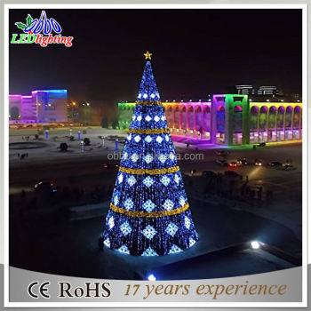 Outdoor Led Christmas Tree Lighted Christmas Cone Tree Giant Outdoor
