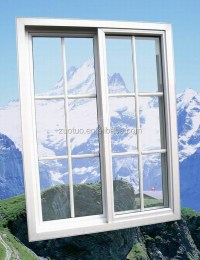 Upvc Cheap House Windows For Sale / Pvc Sliding Window