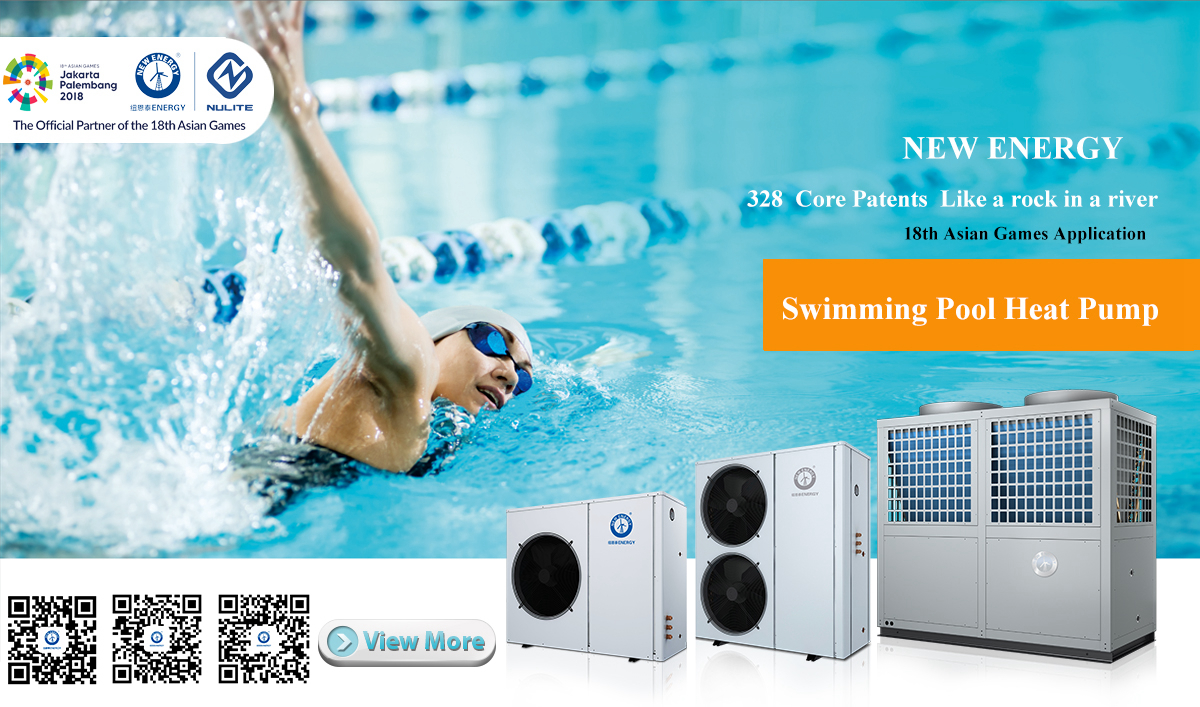 Pool Wärmepumpe Green Heat Inverter 10 5 Kw Guangdong New Energy Technology Development Co Ltd Swimming