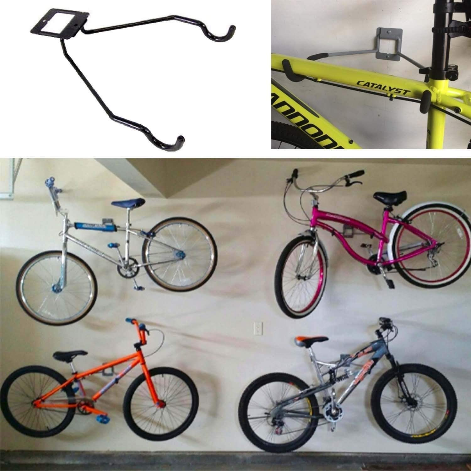 Tidy Garage Bike Rack Installation Cheap Bicycle Wall Storage Find Bicycle Wall Storage Deals On