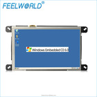 7 inch RS323 Linux Wince mini Industrial embedded cheap industrial control touch tablet all in one PC