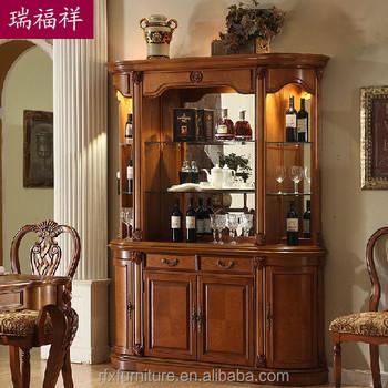 Wooden Flooring Liquor Cabinet,Display Cabinet,Living Room Cabinet - living room display cabinets