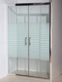 Pivot Used Shower Door With 3 Panel - Buy Sliding Door ...