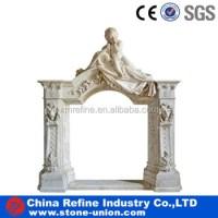 Angel Statues Fireplace Mantel &china Angel Fireplace ...