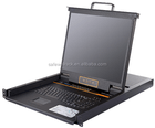 """Safewell SW-LC1916 USB 16 Port KVM Switch with 19"""" Screen"""