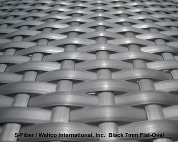 Outdoor Uv Resistant Synthetic Weaving Material For