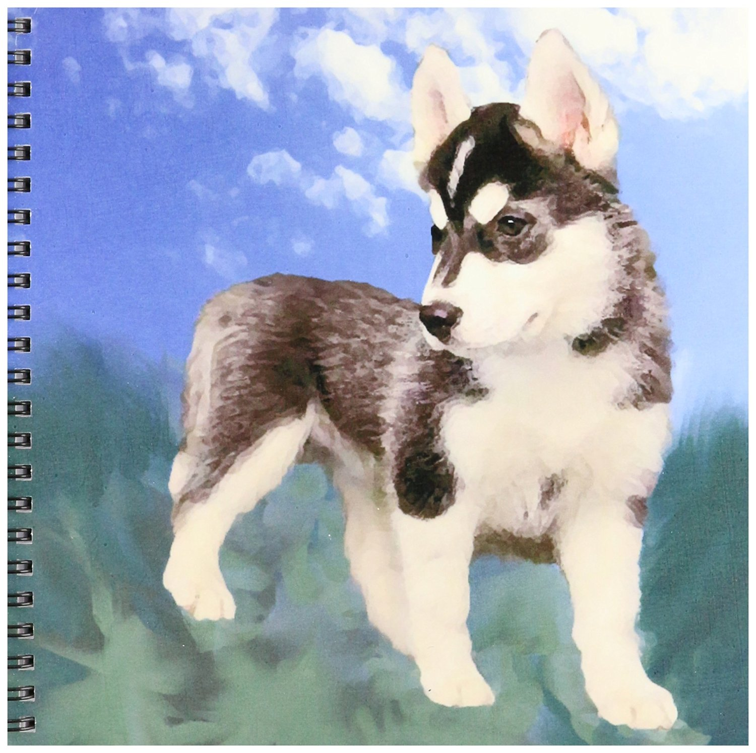 Husky Price Buy 3drose Db 4439 1 Siberian Husky Puppy Drawing Book 8 By 8