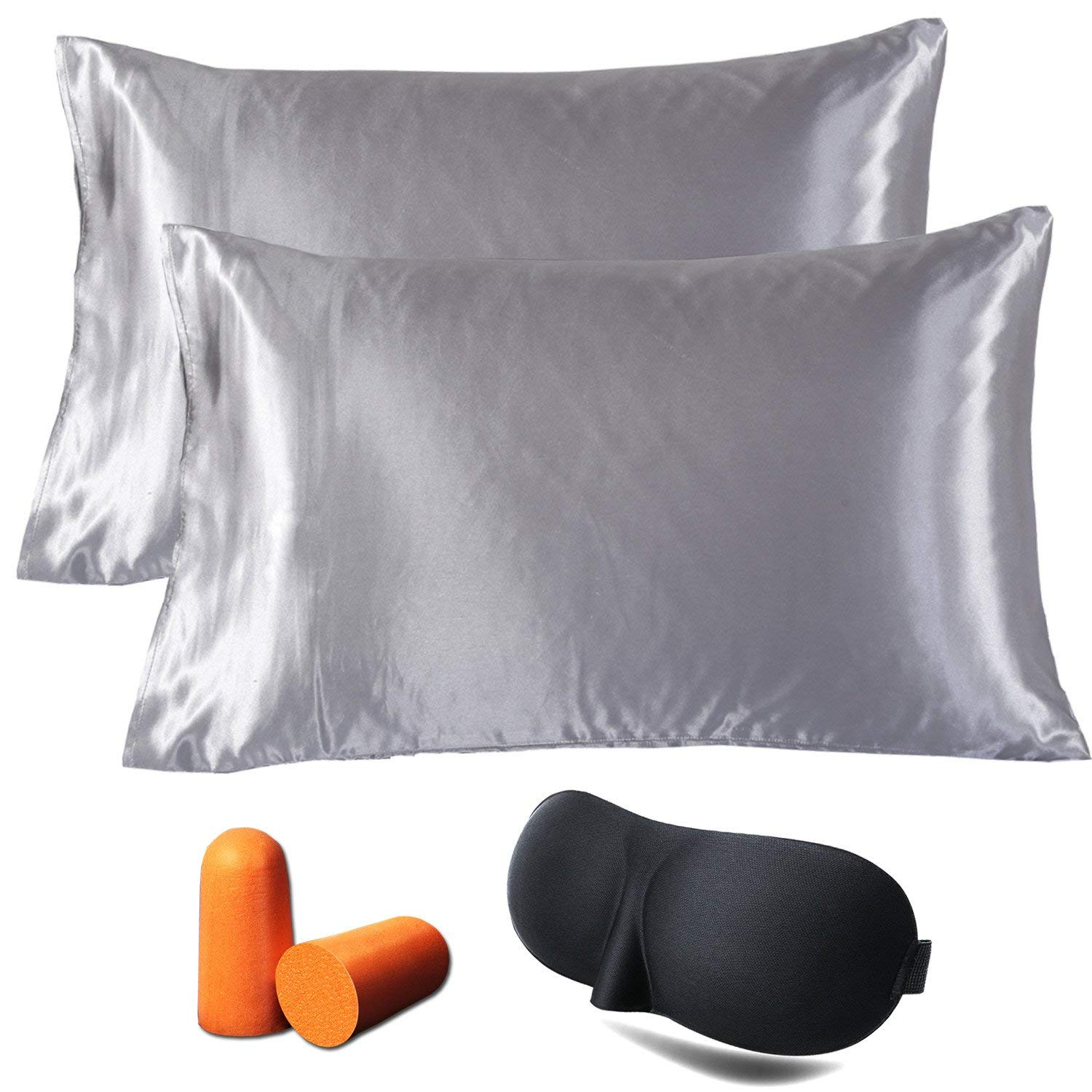 Satin Pillowcases With Zipper Cheap King Size Satin Pillowcase For Hair Find King Size Satin