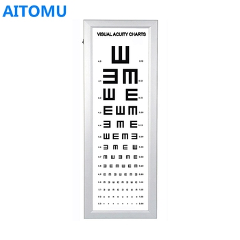 Led Distance Standard Visual Acuity E Chart - Buy Distance Vision