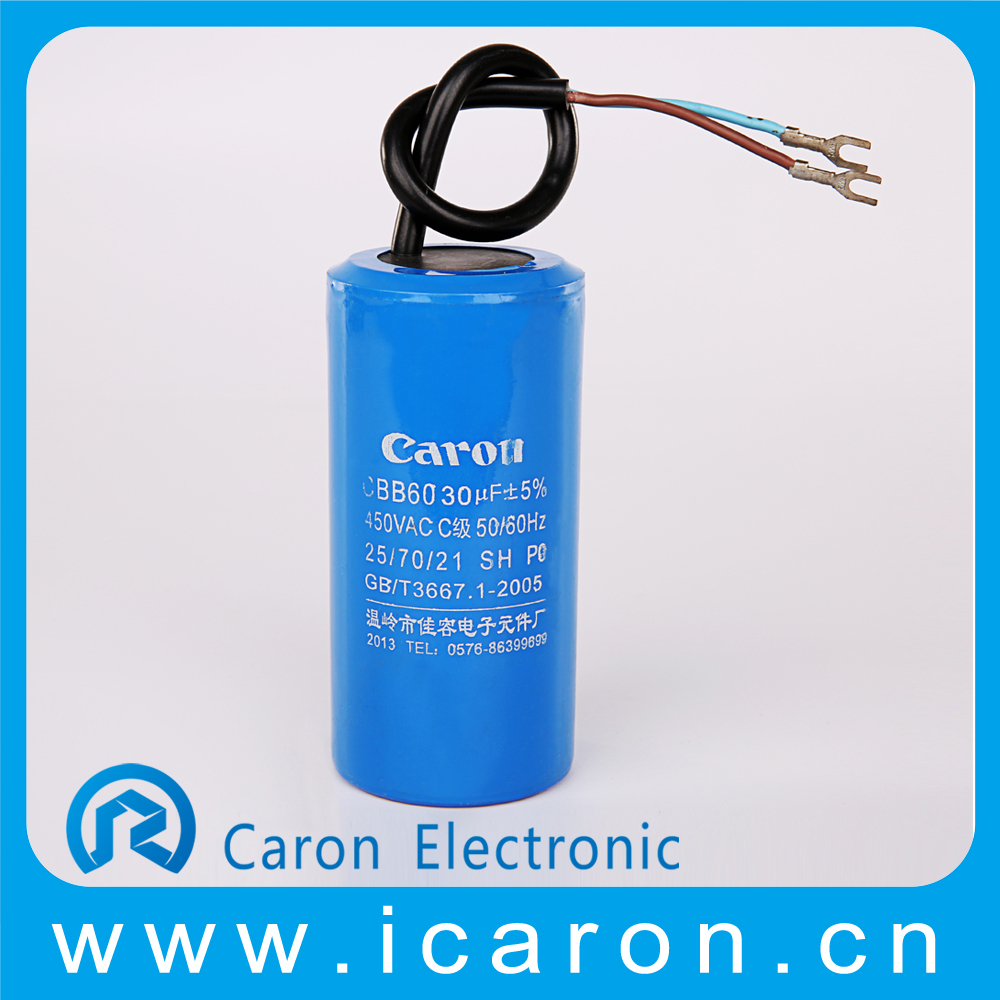 Best Type Capacitor Cbb60 450vac 50 60hz 40 70 Auto Electric Fan E166700 Nieuwe Originele 7 Uf Condensator 25