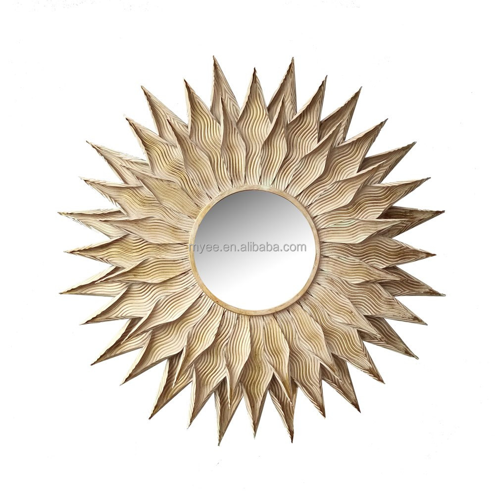 Sun Shaped Mirrors Emulational Sun Flower Shaped Decorative Wall Mirror Buy Unique Wall Mirrors Sun Shaped Wall Mirror Fancy Wall Mirrors Product On Alibaba