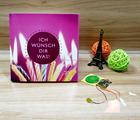 Popular Design Happy Birthday Music LED Greeting Card