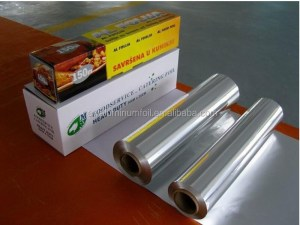 Insulation Material Use and Roll Type Reinforced Aluminum Foil