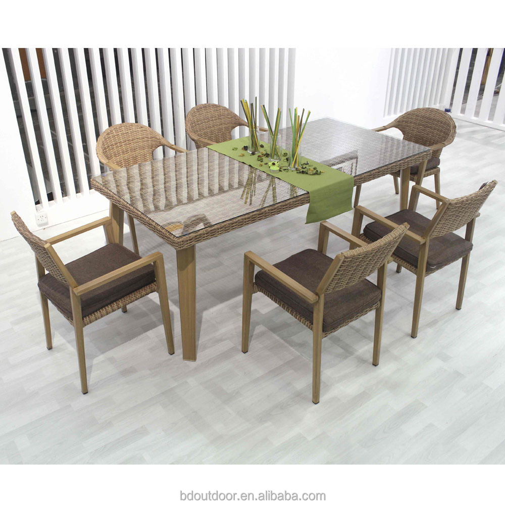 Lounge Set Rattan Modern Restaurant Table And Chair Patio Rattan Outdoor Dining Lounge Garden Set Buy Garden Set Lounge Set Outdoor Dining Set Product On Alibaba