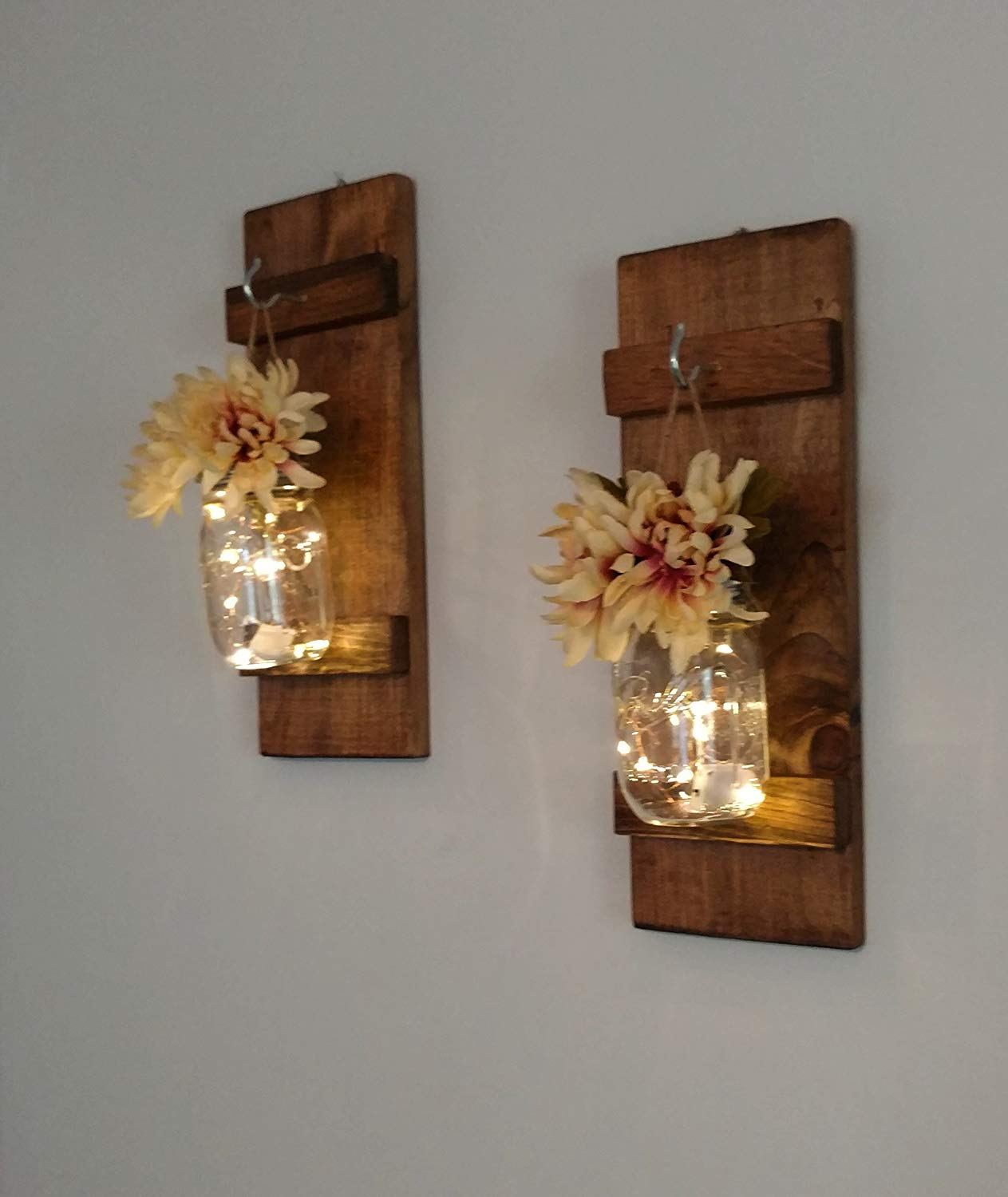 Office Wall Sconces Buy Set Of 2 Decorative Wall Sconces Hanging Candle Holders