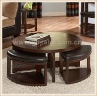 Home Goods Convertible Wood Round Coffee Table To Dining ...