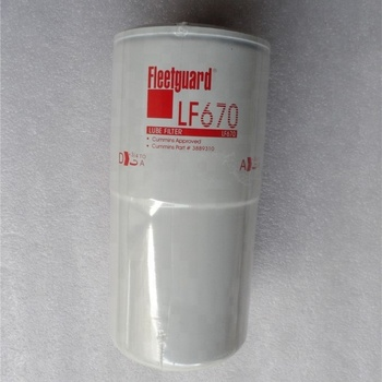 Fleet Ard Lube Oil Filter Lf670 Marine Diesel Engine Fuel Filter K