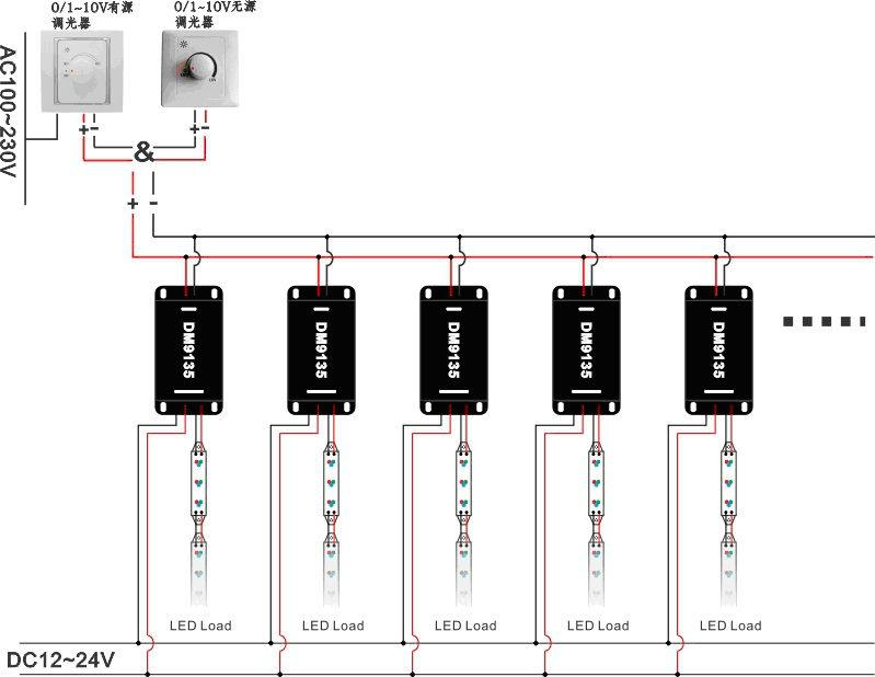0 10v dimmer circuit diagram