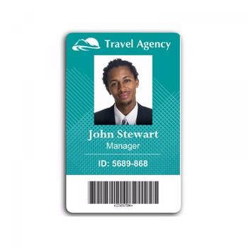 Plastic Pvc School Student Photo Id Business Employee Id Card - Buy