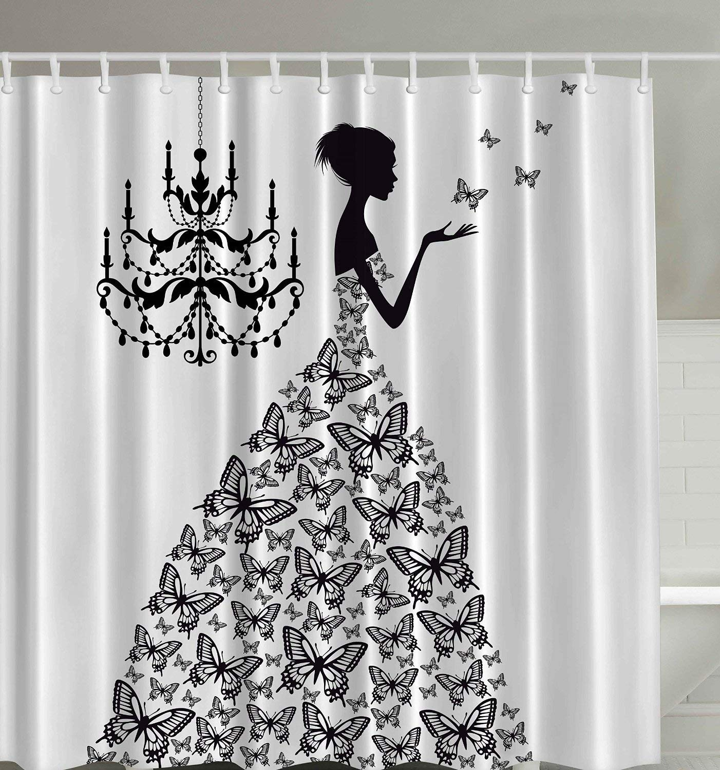 Black Queen Shower Curtain Cheap Queen Shower Curtain Find Queen Shower Curtain Deals On