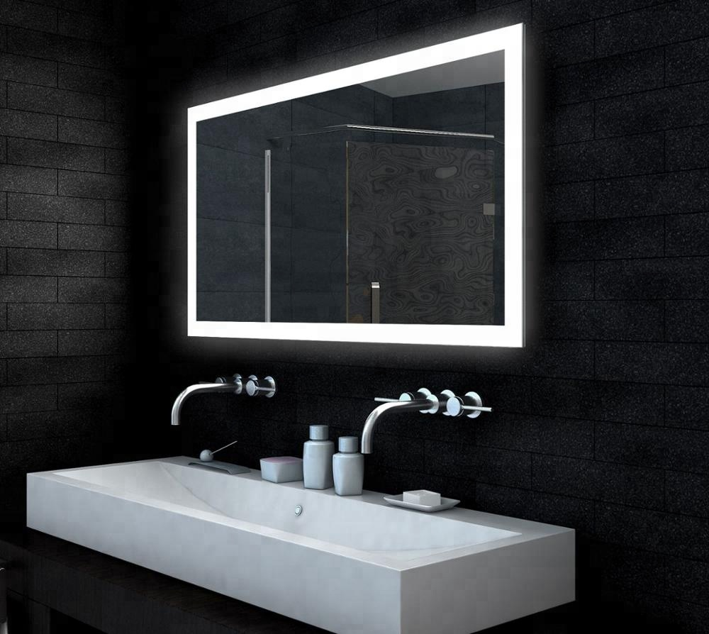 Light Bathroom Mirror 5mm Hotel Aluminum Framed Led Light Bathroom Mirror Buy Led Mirror Bathroom Mirror Led Light Mirror Product On Alibaba