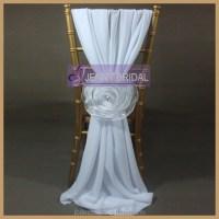 Elegant Fancy White Chiffon Organza Flower Cheap Wedding ...