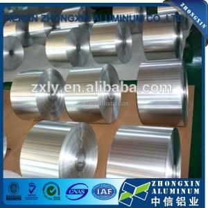Zhongxin brand aluminium foil specification