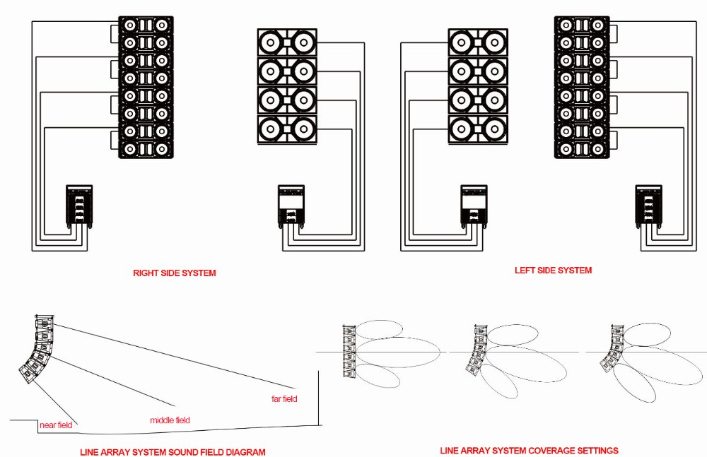 array speaker wiring diagram