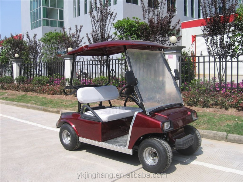 China Mini Cheap Gas Powered Golf Carts With Two Seats For