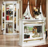 Antique White Bar Counter And Wine Cabinet,Corner Wine ...