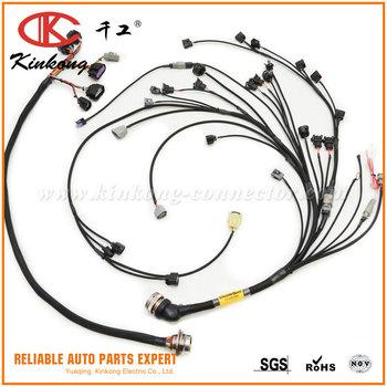 Custom Toyota Engine Wiring Harness - Data Wiring Diagram Update