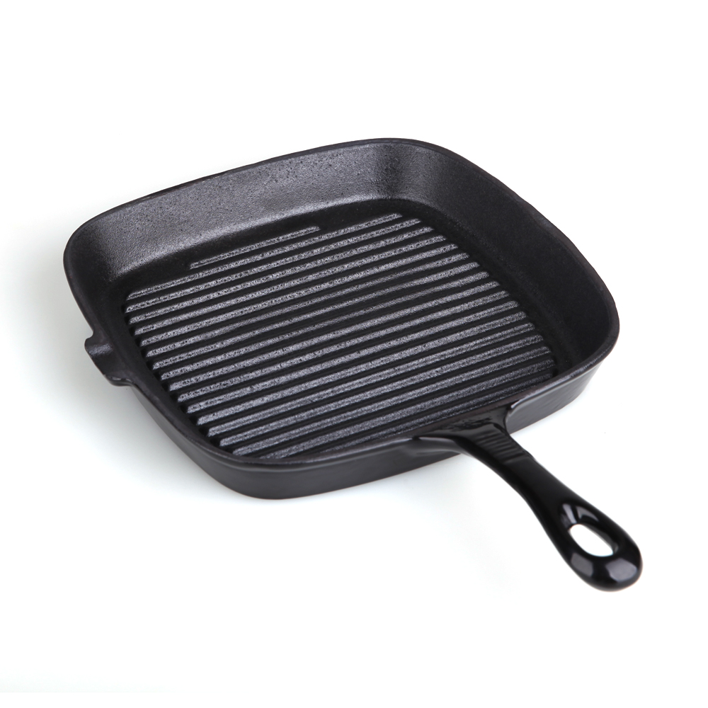 Grill Frying Pan Vegetable Oil Cast Iron Grill Pan Frying Pan With Oil Outlet Buy Frying Pan Vegetable Oil Skillet Square Skillet Product On Alibaba