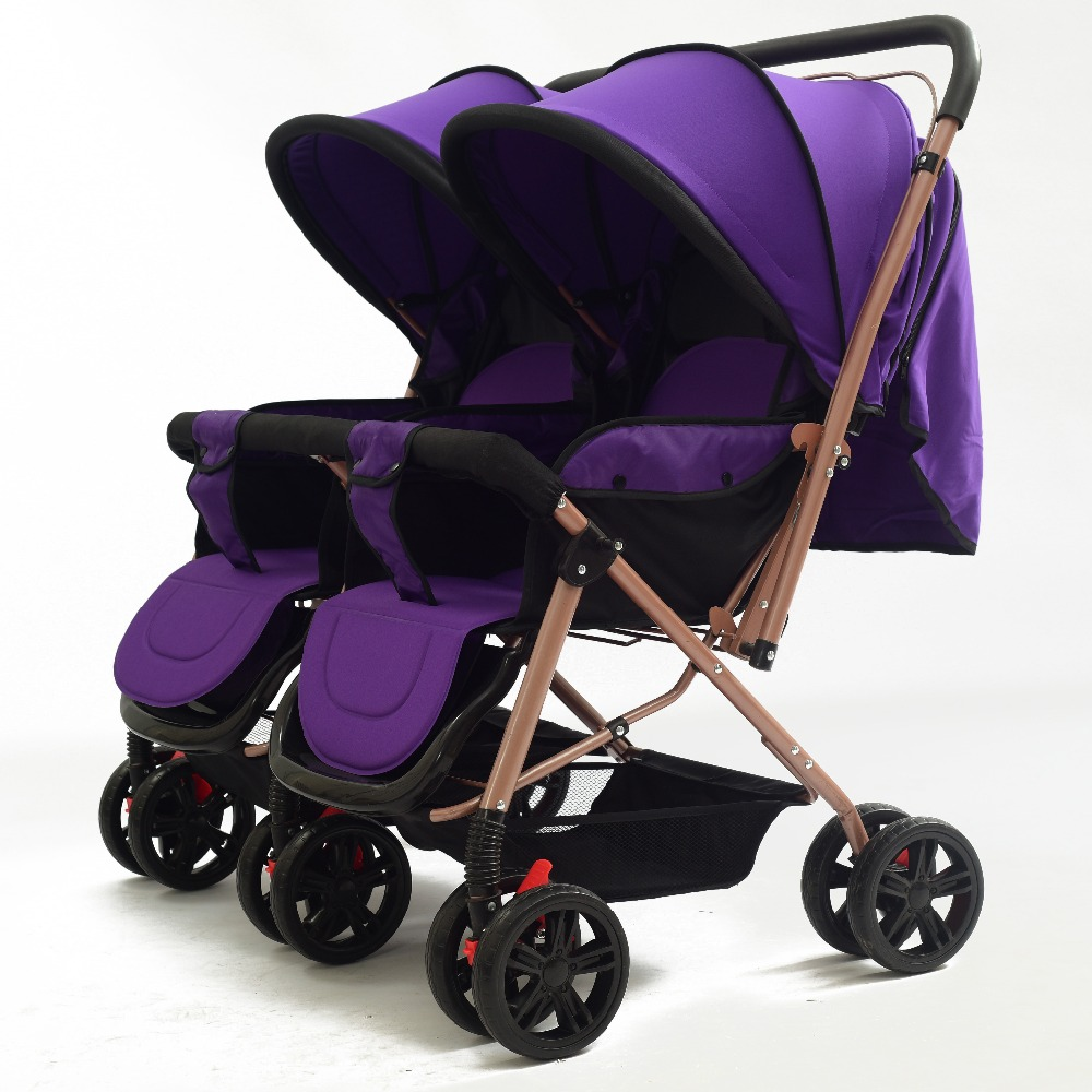 Carriage Type Strollers Foldable Twin Stroller Type Double Baby Carriage Twin Stroller For Boys And Girls View Low Price Baby Go Cart Baby Strollers Hwtt Product Details