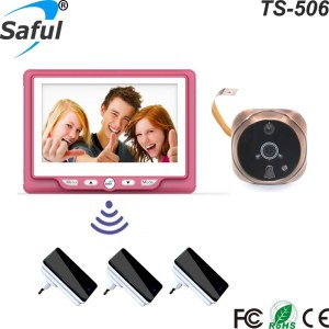 Hot selling 4.3 inch door peephole camera video peephole door camera with lcd screen