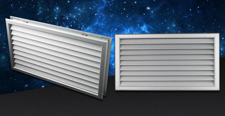 Ventilation Adjustable Air Vent Air Grille Bathroom Door & Interior Door Vent Grill - Ahmadi-faqih