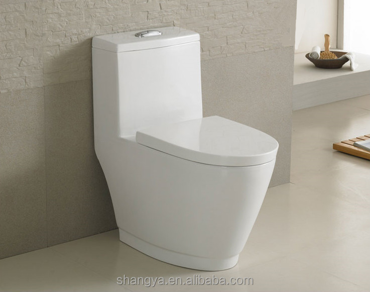 One Piece Toilet Seat Super Siphonic Closet Morden Design