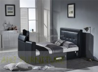 Bed With Tv In Footboard,Bed Mount Tv,Tv Bed - Buy Bed ...