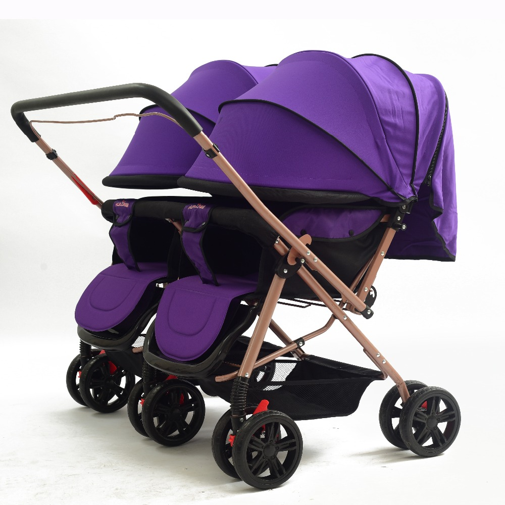 Twin Stroller And Carseat Wholesale Baby Twin Strollers With Car Seat Can Separate Into 2 Strollers Buy Best Twin Baby Strollers Baby Strollers For Two Kids Baby Strollers
