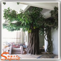 Large artificial decorative tree indoor decor tropical ...