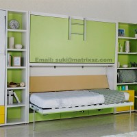 Kids Bunk Wall Bed,Modern Bunk Bed,Pull Down Wall Bunk Bed ...