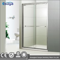 Hotel Shower Enclosure 3 Panel Sliding Glass Door Frosted ...