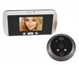 HQS708 3.2inch HD Touch LCD Digital Peephole Viewer wireless digital door viewer Set