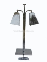 Hammered Table Lamp,Double Square Reading Lamp,Hotel ...