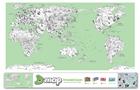 Decoration World Map Sticker Illustration World Coloring Map Design Your World Map